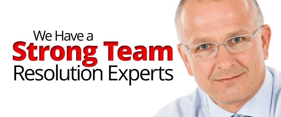 We Have Strong Team Resolution Experts